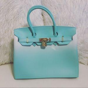 Brand New Multi-Print Medium Handbag
